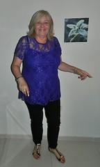 Bulgaria..Pretty in Purple (HerandMe2019...Please Read Profile) Tags: wife women woman female people portrait pose pretty beautiful blonde mature older granny glamorous amateur purple classy bulgaria travel europe holiday photography