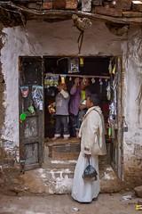 Village Store (Rod Waddington) Tags: middle east yemen yemeni thula village traditional store shop toys door man children streetphotography street stone