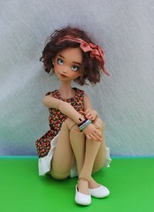 New shooooessss!!!! (stashraider) Tags: atelier momoni resin ball jointed doll summomo82 etsy