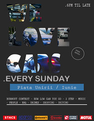 Carmeet poster (Florea Razvan) Tags: poster advertising carmeet carenthusiast