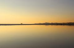 Butlins: low tide at Bognor Regis (explored) (Simon Verrall) Tags: butlins bognorregis felpham elmer middletononsea sussex westsussex beach seaside lowtide sea sunset sunrise winter january still