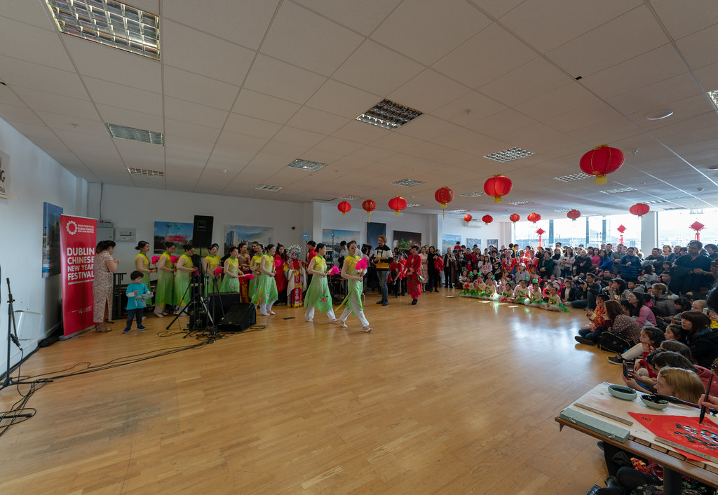 YEAR OF THE PIG - LUNAR NEW YEAR CELEBRATION AT THE CHQ IN DUBLIN [OFTEN REFERRED TO AS CHINESE NEW YEAR]-148922