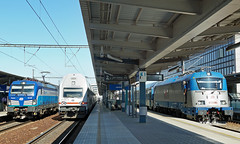 Praha-Holešovice (Neil Pulling) Tags: čd prahaholešovice praha holešovice prague czechia czechrailways czechrepublic railway transport train