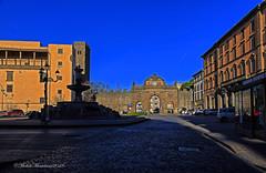 Viterbo Piazza Della Rocca (Michele Monteleone) Tags: viterbo tuscia arte architettura fontana acqua piazza strada porta palazzo michelemonteleone canon 5dmarkiii