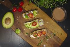 Skorpor (Jeena Paradies) Tags: food skorpor biscotti swedish sweden avocado cheese onion dark tomatoes