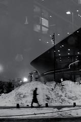 In Helsinki In Wintertime (pni) Tags: human person being people man snow building light reflection homunculi through glass stg oodi ode helsinginkeskustakirjasto centrumbiblioteket helsinkicentrallibrary library helsinki helsingfors finland suomi pekkanikrus skrubu pni