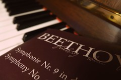 Ode to Joy  #GivePeaceAChance (7 Blue Nights) Tags: givepeaceachance flickrfriday 9 symphony joy beethoven europe peace music score piano rx10