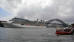 Celebrity Solstice & Jet Boat 2 (PhillMono) Tags: nikon d7100 dslr cruise ship boat vessel sydney circular quay harbour new south wales australia celebrity solstice jet bridge storm cloud