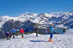 En montant à Roche Parstire (Lumières Alpines) Tags: didier bonfils goodson goodson73 dgoodson lumieres alpines montagne mountain europa outside france francia alpes alps skiing alpine alpini snow neige beaufortain roche parstire ski rando