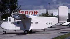 N731E 1993-02 MIA PD (Gert-Jan Vis) Tags: n731e short skyvan sc7 sh1853 miami kodachrome aircargocarriers