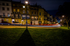 Night in the city....... (A A A A Dafydd Penguin) Tags: after dark night shots low light tripod long exposure trails stars shadow city urban town street house regency historic sion hill clifton bristol park downs leica m10 21mm super elmar f34