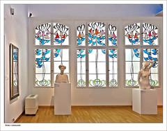 Jugendstil in Darmstadt (dolorix) Tags: dolorix jugendstil artnouveau darmstadt mathildenhöhe museum fenster window