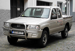B2500 (Schwanzus_Longus) Tags: bremen german germany car vehicle modern japan japanese pickup pick up truck mazda b2500