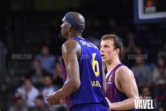 DSC_0274 (VAVEL España (www.vavel.com)) Tags: fcb barcelona barça basket baloncesto canasta palau blaugrana euroliga granca amarillo azulgrana canarias culé