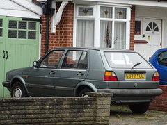 1989 Volkswagen Golf CL (Neil's classics) Tags: vehicle