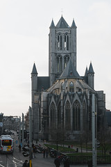 Architecture of Ghent (fcojavier1991) Tags: ghent gante architecture arquitectura building edificio ciudad city streetphotography street castle white sky belgium bélgica europa europe travel traveling tower