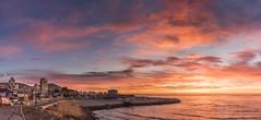 primer amanecer otoño 2019 (Mauro Esains) Tags: agua aves amanecer atardecer atlántico paisaje patagonia playa piedras puerto paseo pesca paisajes postes