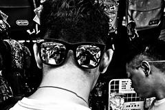 Selfie street photographer style.... (Victor Borst) Tags: selfie asakusa tourist touristic blackandwhite bw mono monotone monochrome urbanroots urban urbanjungle japan japanese street streetphotography streetlife reallife tokyo travel travelling trip traveling mo xpro2 fuji fujifilm selfies sunglasses reflection mirror mirrors