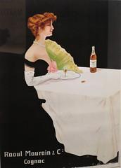 Affiche pour le cognac Raoul Maurain - Musée des Arts du cognac, Cognac (16) (Yvette G.) Tags: affiche cognac 16 charente poitoucharentes nouvelleaquitaine musée muséedesartsducognac