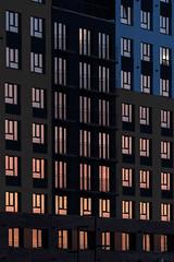 Отражение заката в окнах (Девелоперская компания) Tags: окна закат отражениязаката фасад ритм цвет градиент небо европейскийберег новосибирск россия windows sunset sunsetreflections facade rhythm color gradient sky europeancoast novosibirsk russia брусника