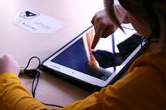 Atelier graphogame CP Rotonde © BB (9) (villenevers) Tags: rotonde tablette tablettes numérique enfant élève hootoo primaire école classe
