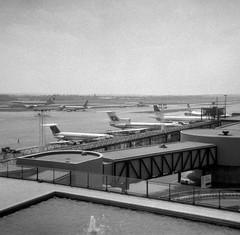 London Gatwick Airport Panorama 1 (heathrow.junkie) Tags: lgw balkanbulgarianairlines londongatwick gatwick tupolevtu154