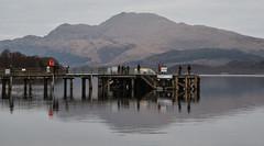 Luss Pier and Ben Lomond, Loch Lomond (Russardo) Tags: luss pier ben lomond loch scotland