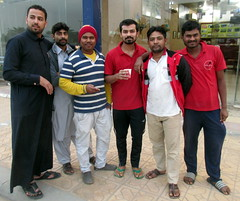 Random Dudes Pose Scene (earthdrifting) Tags: pose workers hafr saudi arabia people guys dudes
