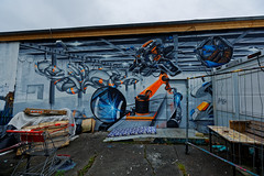 Graffiti 2017 im Freiland Potsdam (pharoahsax) Tags: deutschland graffiti kunst potsdam brandenburg orte graffitycharacter objekte art streetart street urban urbanart paint graff wall artist legal mural painter painting peinture spraycan spray writer writing artwork tag tags worldgetcolors world get colors freiland