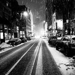 Peel Street Winter Night thumbnail