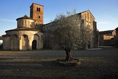 547201901cVIGOLOMARCHESE00013 (GIALLO1963) Tags: ngc culture art winter sunset architettura architecture romanico romanic church vigolomarchese piacenza emilia italy europe