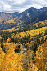 McClure Pass, Colorado (russ david) Tags: mcclure pass co colorado pitkin gunnison landscape october 2018 aspen trees fall autumn travel road drive
