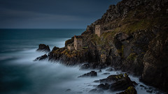 Bleak House 2 (Explored) (Lloyd Austin) Tags: ethereal ocean coastline coastal sky stormy contrast texture atmospheric sigma1750mm penzance england unitedkingdom gb bleak house colour botallack cornwall cornish mining tin mine moody dramatic drama poldark industrial exposed abandoned twilight longexposure sea seascape rocks cliffs landscape 3lt lightroom photoshop cablerelease filters 10stop d7200 nikon exposure explore patience