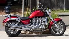 Triumph Rocket III (Sanseira) Tags: australien australia palm beach motorrad bike sechszylinder