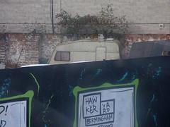 Caravan at the Hawker Yard on Pershore Street (ell brown) Tags: birmingham westmidlands england unitedkingdom greatbritain pershorest thearcadian chinesequarter southside hawkeryard caravan 45 bus nxwm nationalexpresswestmidlands