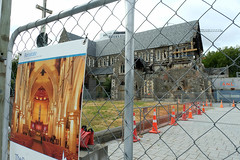 The dream and the reality (Maureen Pierre) Tags: christchurch cathedral present past dream reality religious building lost opportunity newzealand