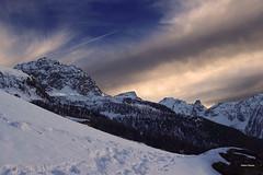 Preludio. (stefano.chiarato) Tags: preludio nuvole clouds cielo sky montagne mountains neve snow valdayas valdaosta paesaggio panorami landscape pentax pentaxk70 pentaxlife pentaxflickraward