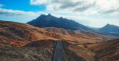Road (kalbasz) Tags: fuerteventura spain road mountain hill landscape viewpoint fujixt2 xf1024