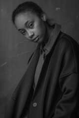 Angela by Christoph Marti (Christoph_Marti) Tags: girl woman black skin studio ballet photography flash dark blackandwhite abstract darkskin blackskin model swissmodel christophmarti