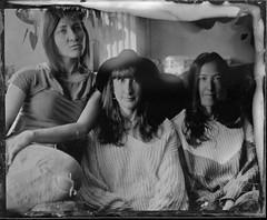 Girls (cedricmarino) Tags: collodion wet plate ambrotype wista field symmar 150mm schneider girls fiends alternative first