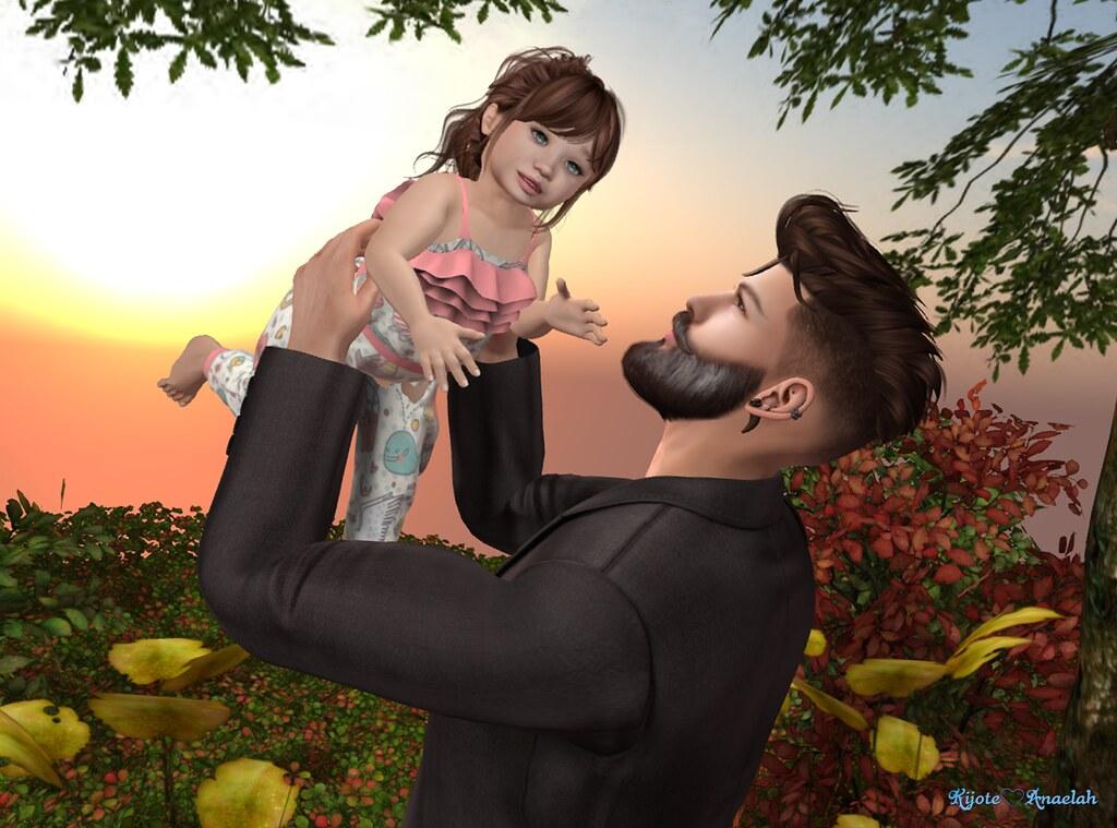 119abd770b98 Virtual Poses: Daddy's Princess (Anaelah ~ Miss Virtual Diva ♛ 2018) Tags: