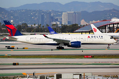 Delta Air Lines Airbus A350-941 N506DN (Mark Harris photography) Tags: spotting lax la canon 5d aviation delta dl dal