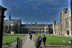 Trinity College Great Court (Bri_J) Tags: cambridge cambridgeshire uk nikon d7500 hdr clouds sky trinitycollege greatcourt buildings cambridgeuniversity