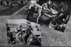 Old photography (baffalie) Tags: auto voiture ancienne vintage classic old car coche rétro expo sarthe 72 sport automobile racing motor show collection club course race circuit compétition moto bike motorise motocycle steve mac queen film
