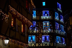 Colmar Street Decor (craigcallagher) Tags: colmar christmas lights street medieval fairytale market