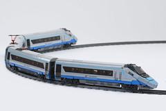 Alstom Pendolino ED250 PKP Intercity (01) (Mateusz92) Tags: lego train zbudujmy to afol pkp intercity alstom pendolino ed250