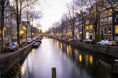 Amsterdam (rocco.telesca) Tags: holiday travel bridge lights canal urban city longexposure g7x canon europe amsterdam