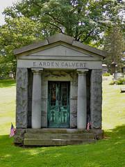 E. Arden Calvert (George Neat) Tags: structures monongahela mausoleum cemetery grave washington county pa pennsylvania scenic scenery landscapes georgeneat patriotportraits neatroadtrips outside