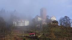 Burg Bad Liebenzell (joschibelami) Tags: badliebenzell badenwürttemberg deutschland 2019 fog nebel mist