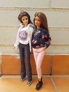 Abril & Bella (amartpas) Tags: barbie ooak salemcitydolls abril skipper princess bella eclipse mackie miercoleshappy ateliernishasha euphoriadolls